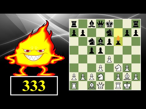 Blitz Chess #333: King's Indian Attack