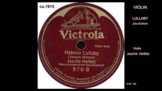 J.HEIFETZ-violin Hebrew Lullaby  VTS_01_1.VOB