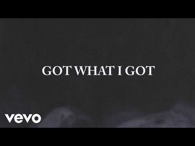 Jason Aldean - Got What I Got (Lyric Video)