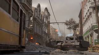 Call of Duty: WWII - Aachen Multiplayer Map Flythrough (PC/PS4/Xbox One)