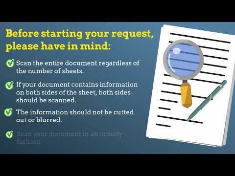 Tips to apply for your apostille or legalization online