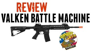 Valken Battle Machines REVIEW! Airsoft R US Tactical