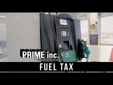 fuel taxes for truck drivers