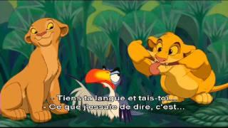 Le Roi Lion - Karaoké : Je voudrais déjà être roi !