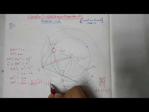 Chapter 11 Exercise 11.2 (Q2) Constructions of Maths class 10 NCERT