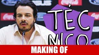 Vídeo - Making Of – Técnico