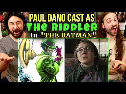 Paul Dano Cast As RIDDLER In