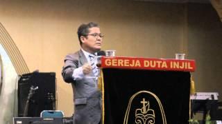 Pdt. RIDWAN HUTABARAT (lucu , segar !)  -  Gereja Duta Injil , Ambasador lt.5 Jak Pus