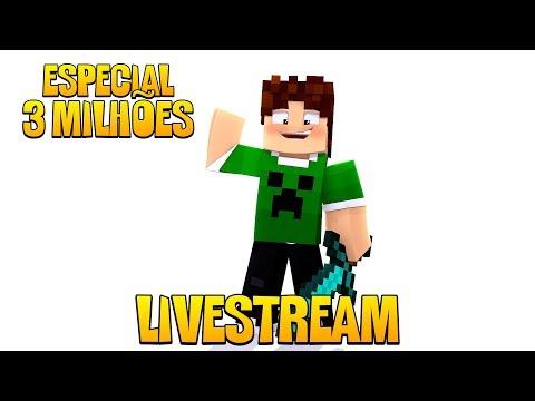 LIVE - ESPECIAL 3 MILHÕES DE MANINHOS  !!