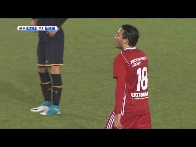 Samenvatting: Almere City FC - Jong AZ (3-2)