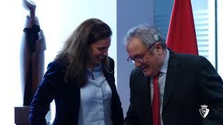Acuerdo C. A. Osasuna - CaixaBank