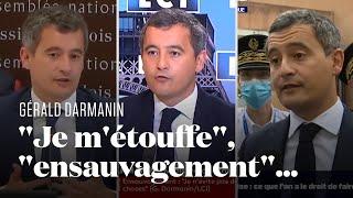 Gérald Darmanin, un habitué des déclarations musclées et polémiques