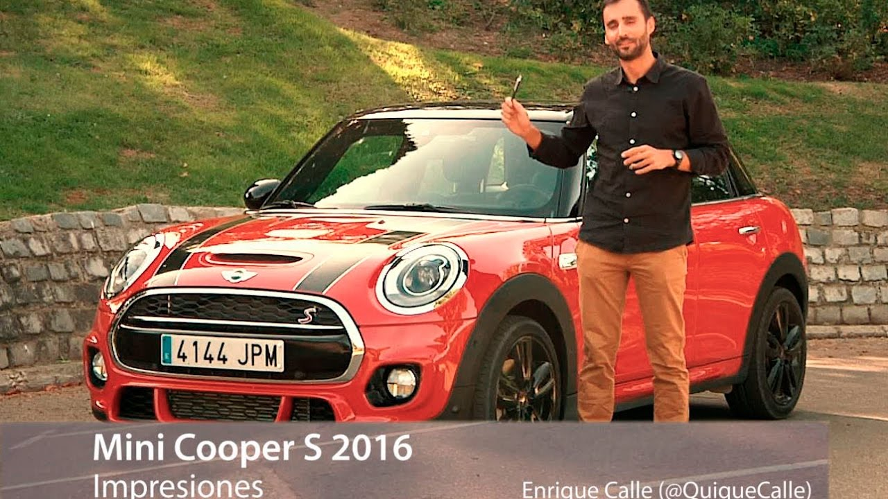 mini cooper s 2015 impresiones youtube. Black Bedroom Furniture Sets. Home Design Ideas