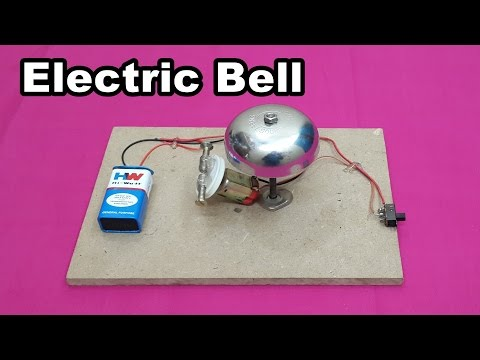 How to Make a Simple Electric Bell at Home - Easy Tutorials