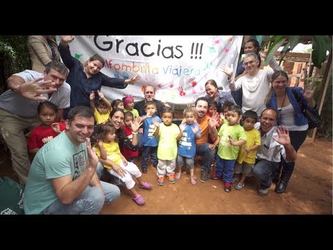 Giveback: Journey of a Lifetime Visit to Traveling Carpet in Paraguay