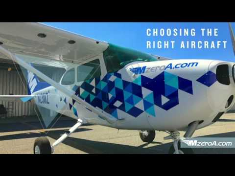 How to Buy an Airplane Facebook LIVE - MzeroA Flight Training
