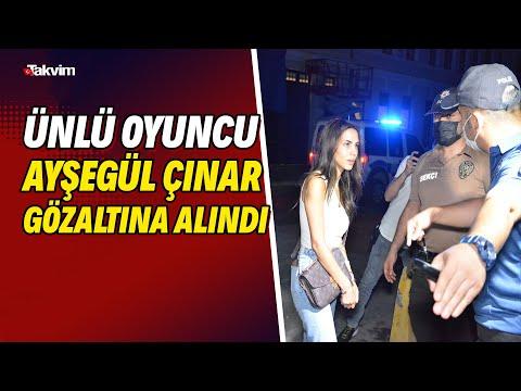 Ünlü oyuncu Ayşegül Çınar ve eski sevgilisi gözaltına alındı! Tam 12 kişi bıçaklandı