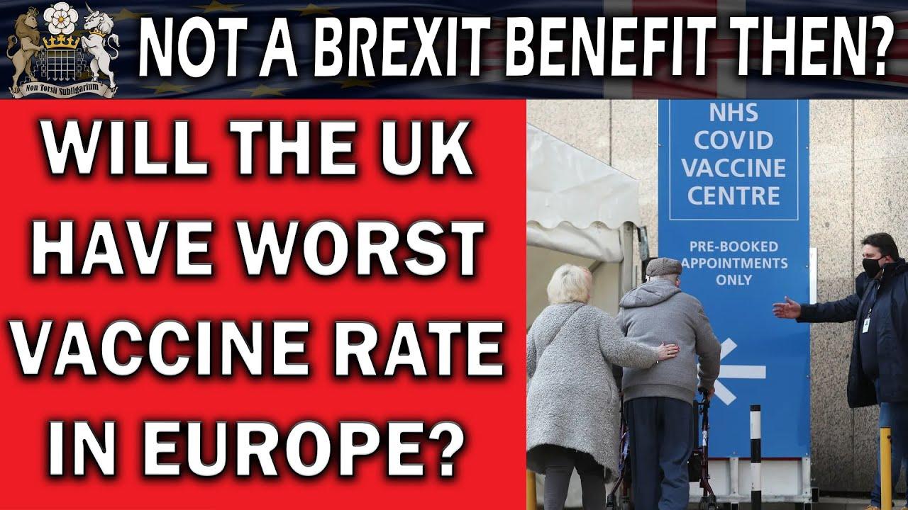 EU Overtaking UK Covid Vaccination Rates