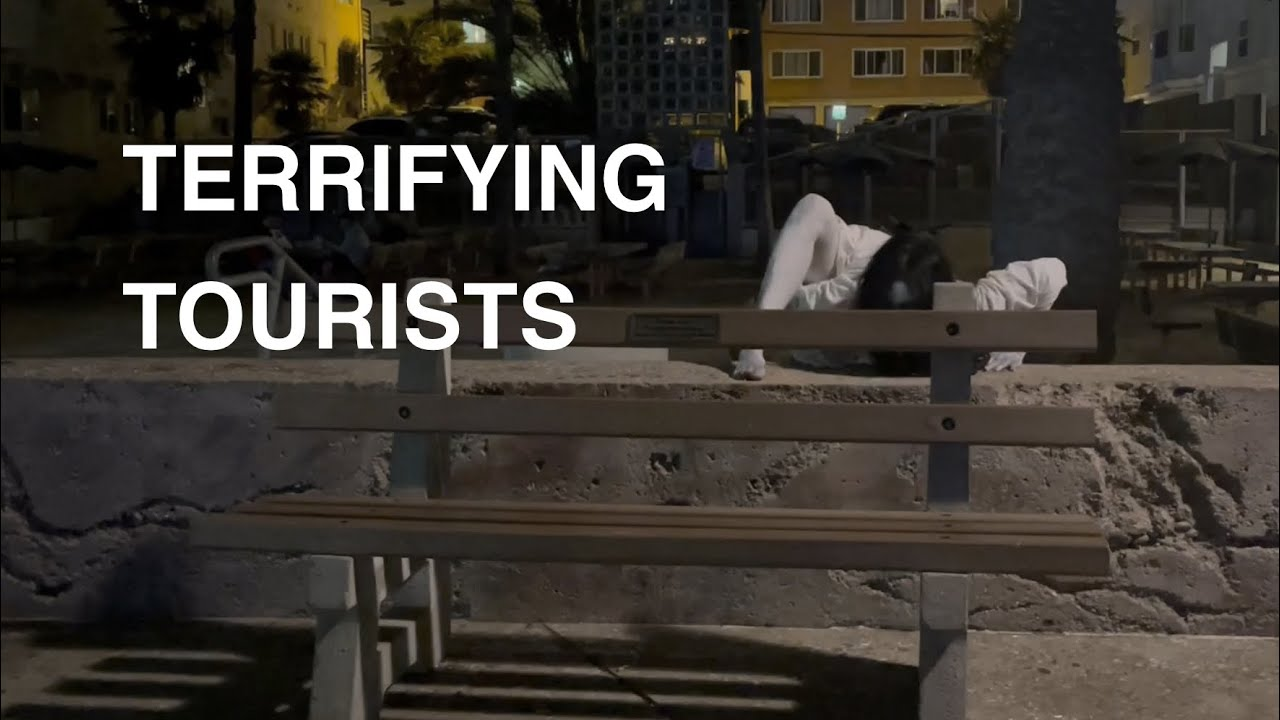 TERRIFYING TOURISTS: A night in the life of Samara from The Ring