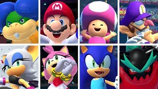 Mario & Sonic at the Olympic Games Tokyo 2020 - All Character Victory Animations