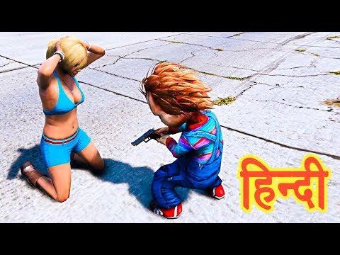 GTA 5 - Chucky Ne Kiya Tracey Ko Kidnap | Trevor, Michael, Franklin | Story thumbnail