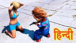 GTA 5 - Chucky Ne Kiya Tracey Ko Kidnap   Trevor, Michael, Franklin   Story