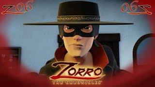 LE PIÈGEPartie 2 | Les Chroniques de Zorro | Episode 6 | Dessin de super-héros