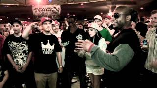 KOTD - Rap Battle - Emotionz vs FLO