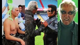 ROBOT 2.0 Making Behind The Scenes - Akshay Kumar And Rajinikanth