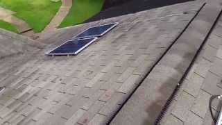 400 watt solar panel system setup.