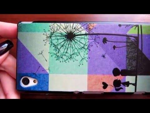 Посылка с Aliexpress. Пластмассовый чехол для Sony Xperia M4 Aqua. Китайские штучки.