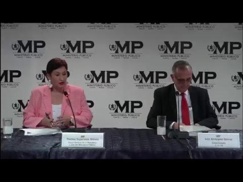 Conferencia de Prensa: MP - CICIG