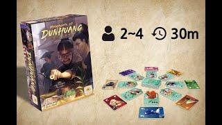 둔황의 상인 게임설명 How to Play Merchants of Dunhuang