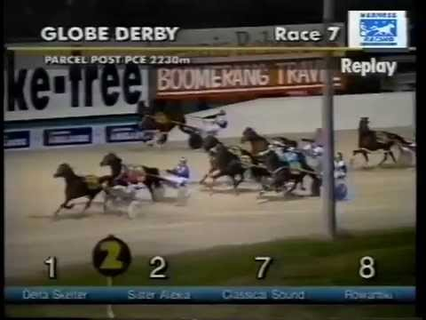 Fall at Globe Derby trots, Adelaide 23 Oct 1999