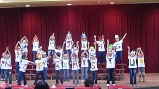 新北市國光國小100學年度二年1班英語歌唱比賽20111116