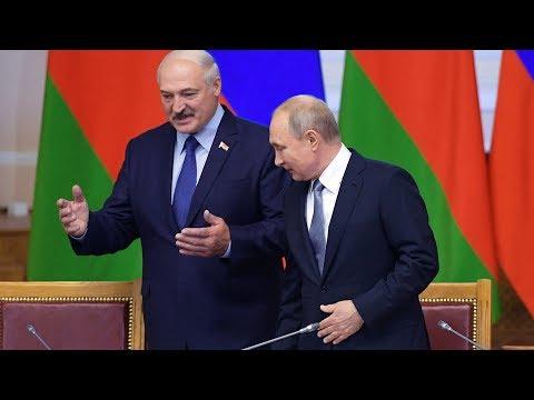Россия и Беларусь. Договор о поставках нефти