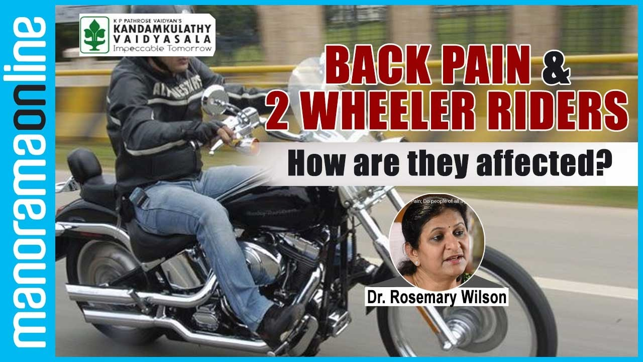 Back Pain And Two Wheeler Riders How They Are Affected Manorama