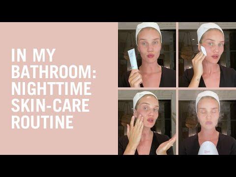 In My Bathroom: Rosie's Skin-Brightening Night Routine