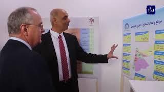 وزير العمل يفتتح فروعا إنتاجية في محافظتي جرش وإربد (5-1-2019)