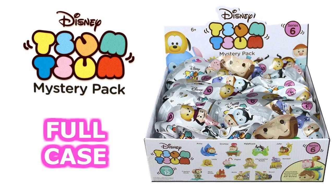 Disney Tsum Tsum Blind Mystery Bag Stack Pack Maleficent Vinyl Series 6