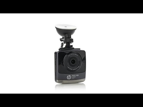 HP F505G 1080p Full HD Dash Cam With 140Degree Lens
