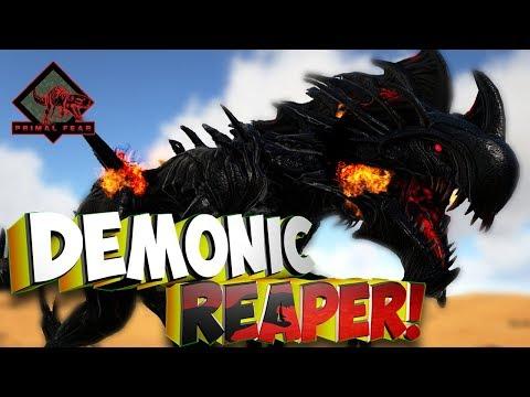 Эпическая битва с Demonic Reaper!  - Ark Survival Evolved Primal Fear #12