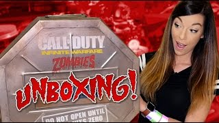 One of iamfallfromgrace's most viewed videos: OPENING THE SECRET BOX! Infinite Warfare ZOMBIES Mystery Package Unboxing!