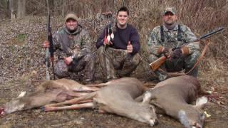 Recurve and Flintlock Muzzleloader Late Season Deer Hunting 2011