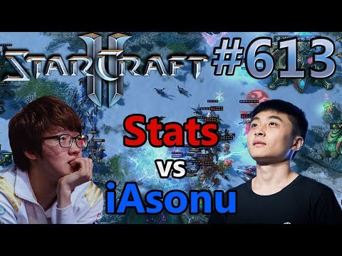 Stats (P) vs iAsonu (Z) | IEM Shanghai | Starcraft 2: Replay-Cast #613 [Deutsch]