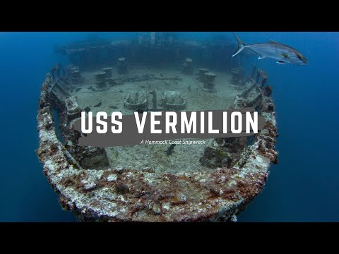 USS Vermilion : A Hammock Coast Wreck (Myrtle Beach Scuba Diving)