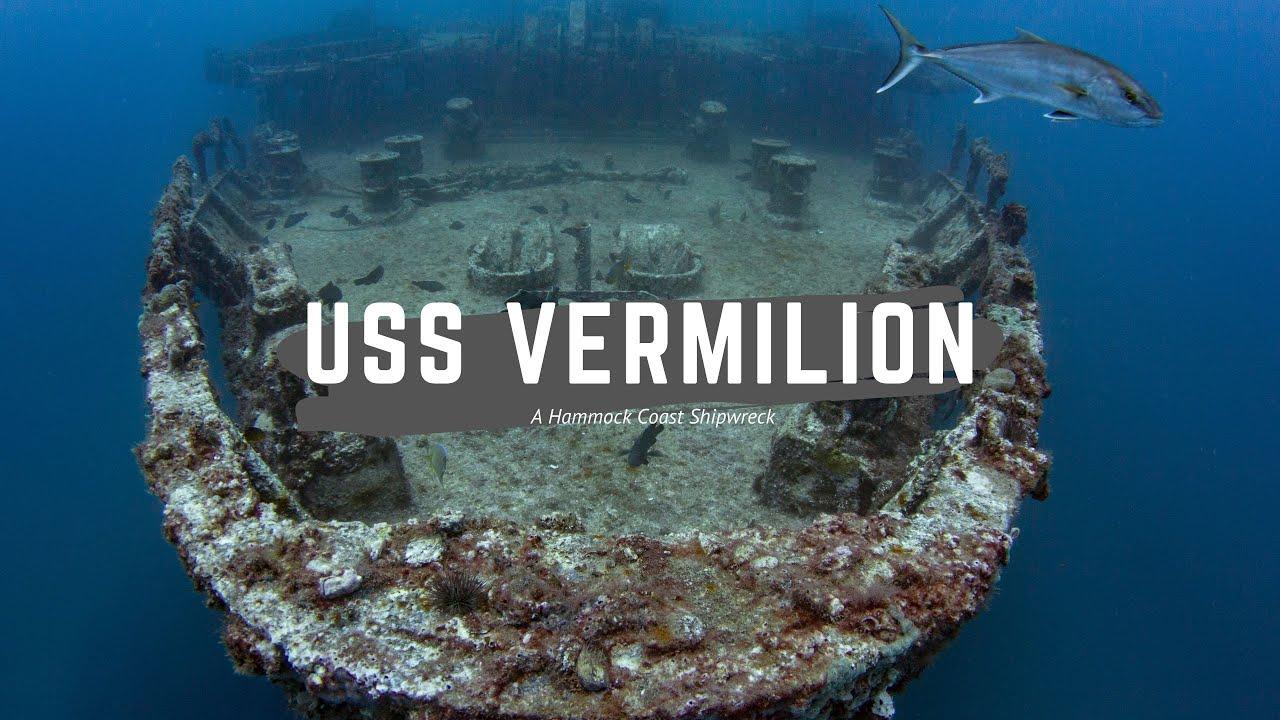 Uss Vermilion A Hammock Coast Wreck Myrtle Beach Scuba Diving
