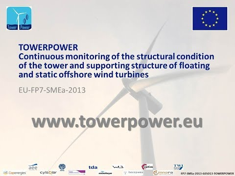 TowerPower project on Continuous monitoring system of offshore wind turbines tower