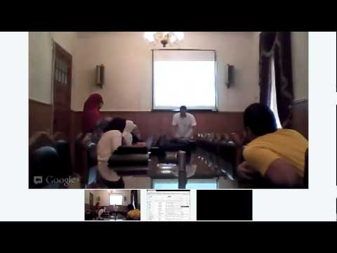 Google Apps Training for Cairo University