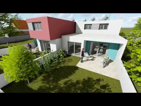 Animation 3D de promotion immobiliere